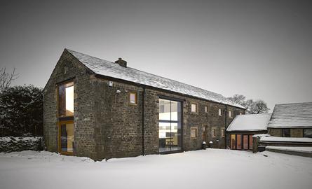 Un vechi hambar din Yorkshire, transformat in locuinta moderna