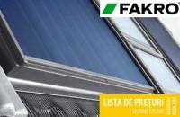 Noua lista de preturi FAKRO pentru sisteme solare