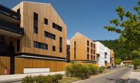 Un nou complex de locuinte eficiente da tonul regenerarii urbane dintr-un orasel francez Biroul de arhitectura