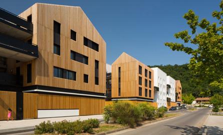 Un nou complex de locuinte eficiente da tonul regenerarii urbane dintr-un orasel francez
