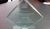 HOBBIT CONCEPT RO a castigat AURUL la premiile APPW 2014! In cadrul concursului de piscine si