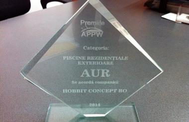 HOBBIT CONCEPT RO a castigat AURUL la premiile APPW 2014!