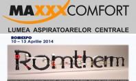 MAXXXCOMFORT RO va invita la standul 24 din Pavilionul C4 in cadrul ROMTHERM MAXXXCOMFORT RO SRL