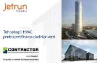 Jetrun Energo Eco la Expoconferinta Proiectantilor si Antreprenorilor de Instalatii CONTRACTOR 2014 Peste 200 de antreprenori si proiectanti de instalatii si companii din industrie participa pe 7-8 aprilie 2014, la Bucuresti, la a doua editie CONTRACTOR 2014.