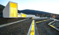 Centrul Pocinho din Portugalia isi face simtita prezenta cu fasii de lumina Arhitectul Alvaro Fernandes Andrade