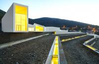 Centrul Pocinho din Portugalia isi face simtita prezenta cu fasii de lumina