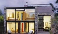 Transformare radicala a unei structuri din piatra intr-o locuinta moderna Arhitectii de la MOOARCH au transformat
