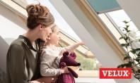 Noua generatie de ferestre de mansarda VELUX - Ideale pentru toate bugetele si dorintele Grupul VELUX