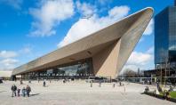 Noua Gara Centrala din Rotterdam Echipele de la Benthem Crouwel Architects MVSA Architects si biroul de