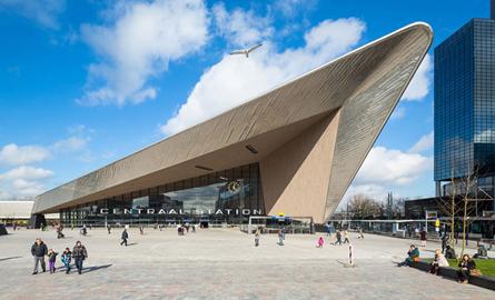 Noua Gara Centrala din Rotterdam