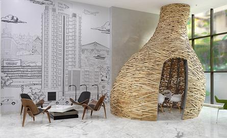 Birourile pentru Baya Park, forme si texturi neconventionale