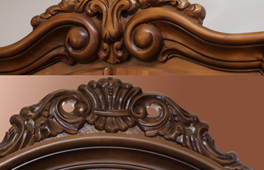 Sculptura ornamentala, nota distinctiva a mobilei de lux?