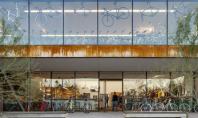 Casa pentru biciclete Biroul de proiectare din Phoenix Debartolo Architects a finalizat lucrarile la cladirea denumita