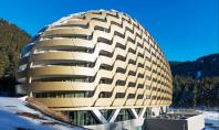 Noul hotel InterContinental din Davos o structura considerata nerealizabila Biroul de proiectare OIKOS cu sediul in