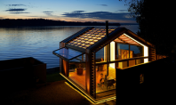 Garaj transformat in pavilion de vara multi-functional Echipa de ahitecti de la Graypants a primit Premiul