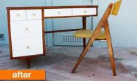 Idei pentru transformarea vechilor obiecte de mobilier Doriti sa adaugati putin dramatism unui vechi obiect de