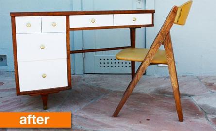 Idei pentru transformarea vechilor obiecte de mobilier