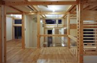 Locuinta pe structura din lemn