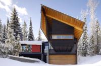 Casa in mijlocul naturii din British Columbia