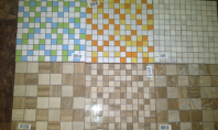 Mozaicurile Fiore Ceramica (noul brand Kai Group) impresioneaza vizitatorii Art Floors 2014 Mozaicurile Fiore Ceramica realizate