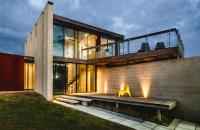 Bridge House, spatii concepute in functie de natura inconjuratoare