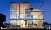 O casa inchisa complet in sticla poate fi eficienta Construita in cartierul rezidential Ijburg in imediata