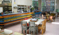Designul unui restaurant din Eindhoven amestec de obiecte reciclate Plimbandu-te prin zona Strijp din Eindhoven dai