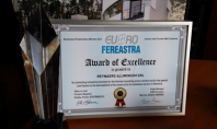 Premiul de Excelenta pentru Reynaers Aluminium Premiul de Excelenta pentru Reynaers Aluminium in cadrul Premiilor Pietei