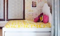 O camera vesela pentru copii O familie tanara a apelat la un designer de profesie pentru