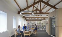 Biblioteca Universitatii Cumbria amenajata intr-un hambar Echipa John McAslan+Partners a realizat proiectul de reconversie al unui