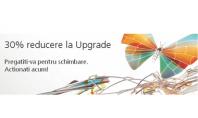 30% reducere la Upgrade catre versiunile 2014 In perioada 7 mai - 25 iulie 2014 beneficiati de pana la 30% reducere pentru achizitia licentelor Upgrade.