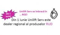 Unilift Serv se imbraca in … ROZ! Din 1 iunie Unilift Serv este dealer regional al