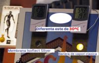 ISOFLECT SILVER - membrana pentru izolatie termica si bariera de vapori