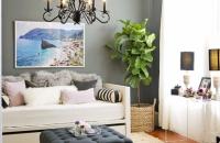Un apartament amenajat intr-un stil clasic