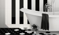 Jocuri de ceramica in alb si negru Modelele de ceramica in alb si negru sunt un