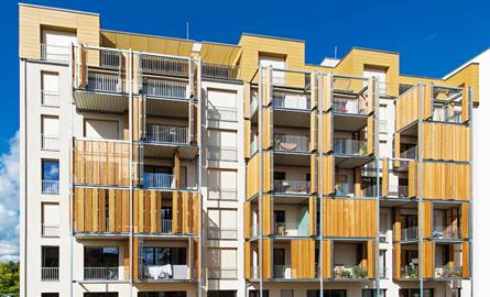 Cladire de apartamente in Berlin cu zero emisii de carbon