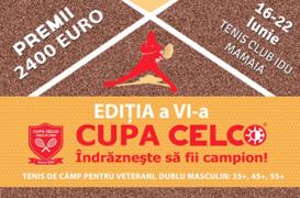 Cupa CELCO de Tenis de Camp a ajuns la editia a VI-a
