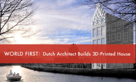 Prima casa realizata cu o imprimanta 3D