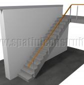 Buna seara la scara cu rampa rotunda ce dimensiuni are treapta si cate trepte sunt la