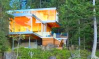 Casa Gambier transparenta totala spre natura O cabana moderna in mijlocul padurii realizata de Mcfarlane Green