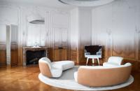Un apartament din Paris apartinand perioadei Art Deco isi schimba infatisarea