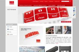 ACO Romania a lansat noul site www.aco.ro