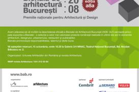 Avem placerea sa va invitam la deschiderea oficiala a Bienalei de Arhitectura Bucuresti 2008