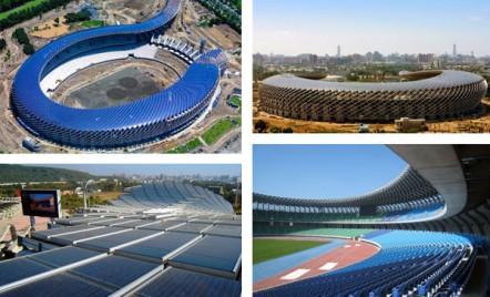 Taiwan: Stadionul care functioneaza integral pe energie solara