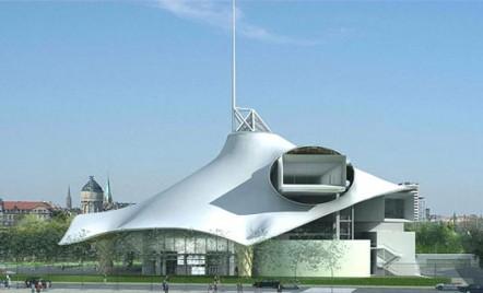 Un acoperis extravagant, pe masura cladirii: Centrul Pompidou de la Metz