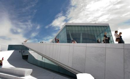 Opera din Oslo, distinsa cu premiul european pentru Arhitectura MIES VAN DER ROHE, construita pe structuri metalice RUUKKI