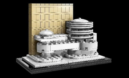 Ce s-ar fi intamplat daca Frank Lloyd Wright ar fi avut un joc de Lego?!