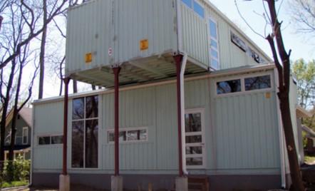 Transformarea unor containere intr-o casa