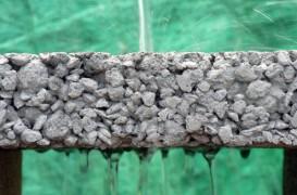 Betonul permeabil pentru pavaje