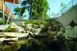 Centrul Aquaquest preda lectii de ecologie prin propria arhitectura